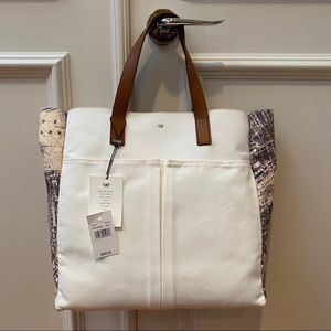 Natural London Nevis Canvas Tote!